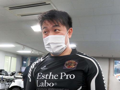 決勝は残念な結果に終わってしまった吉沢純平だが、今後に期待だ(撮影・栗田文人)